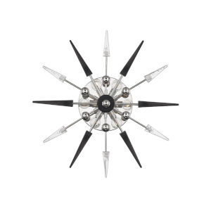 Sparta Polished Nickel Six-Light Wall Sconce
