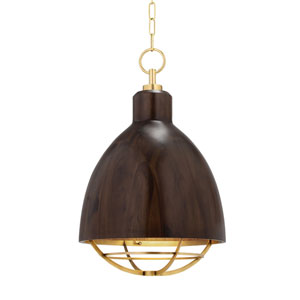 Sands Point Brass Polished One-Light Pendant