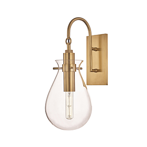 Ivy Aged Brass One-Light LED Wall Sconce