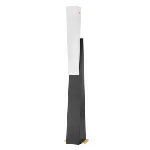 Ratio Black and White One-Light Floor Lamp