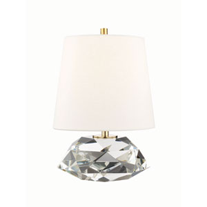 Henley Aged Brass 18-Inch One-Light Table Lamp