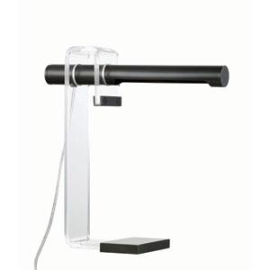Hillcrest Black Four-Inch One-Light LED Table Lamp