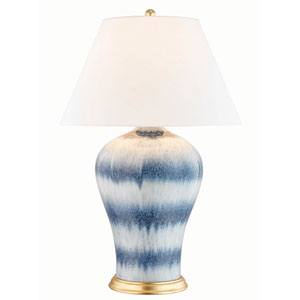 Plutarch Aged Brass One-Light Table Lamp