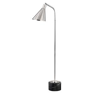 Stanton Polished Nickel One-Light Floor Lamp