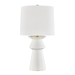 Amagansett Ivory One-Light Accent Table Lamp