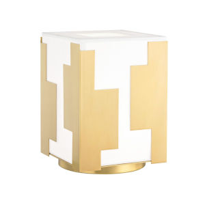 Acadia Aged Brass One-Light Accent Table Lamp