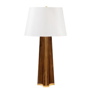 Woodmere Aged Brass One-Light Accent Table Lamp
