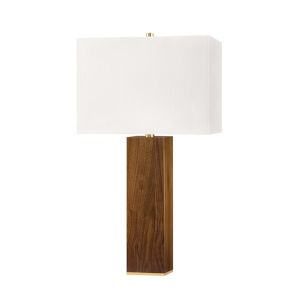 Waltham Aged Brass 16-Inch One-Light Accent Table Lamp