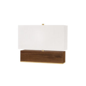 Waltham Aged Brass 20-Inch One-Light Accent Table Lamp