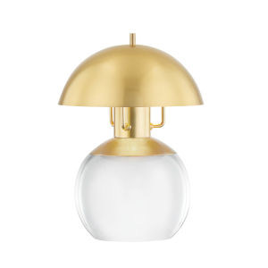 Bayside Aged Brass Seven-Inch One-Light Table Lamp