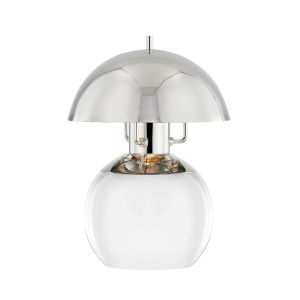 Bayside Polished Nickel Seven-Inch One-Light Table Lamp