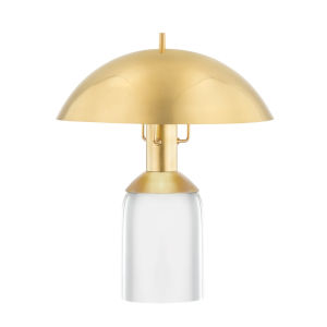 Bayside Aged Brass 13-Inch One-Light Table Lamp