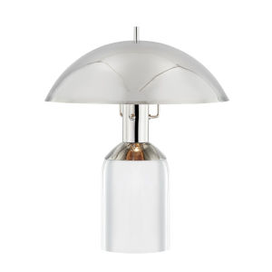 Bayside Polished Nickel 13-Inch One-Light Table Lamp