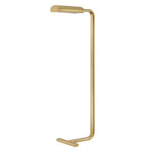 Renwick Aged Brass LED Armchair Floor Lamp
