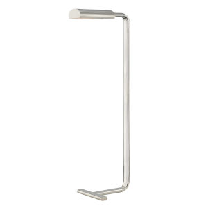 Renwick Polished Nickel LED Armchair Floor Lamp