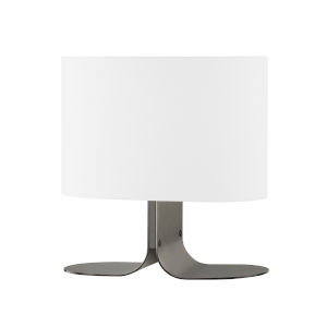 Wright Black Nickel One-Light Table Lamp
