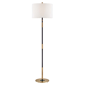 Bowery Aged Old Bronze One-Light Floor Lamp