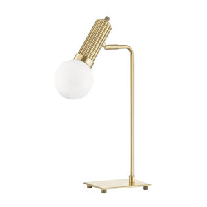 Reade Aged Brass LED Accent Table Lamp