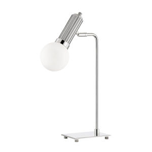 Reade Polished Nickel LED Accent Table Lamp