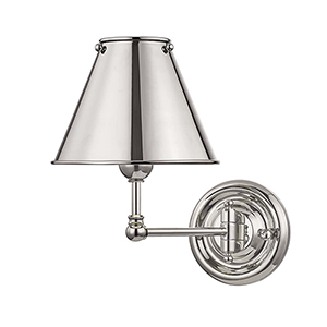 Classic No.1 Gray One-Light Five-Inch Wall Sconce