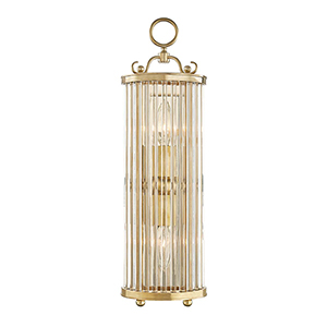 Glass No.1 Gold and Clear One-Light Wall Sconce