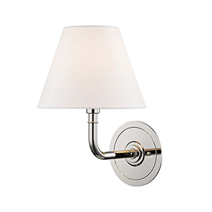 Signature No.1 Gray and Off White One-Light Wall Sconce
