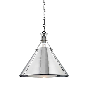 Metal No. 2 Gray One-Light Pendant