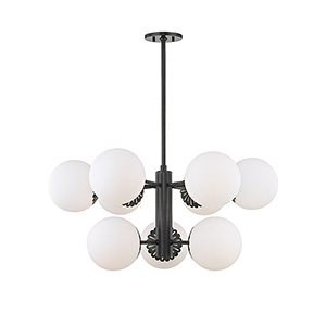 Paige Old Bronze 9-Light 33-Inch Chandelier