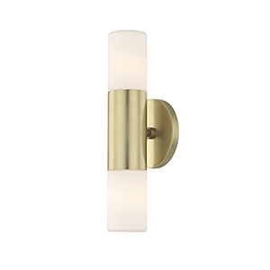 Lola Aged Brass LED Five-Inch Wall Sconce