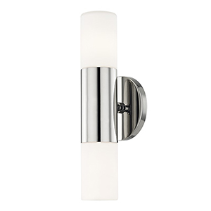 Lola Polished Nickel LED Five-Inch Wall Sconce