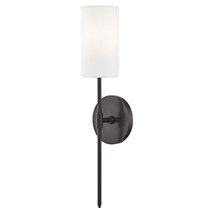 Olivia Old Bronze 1-Light Five-Inch Wall Sconce