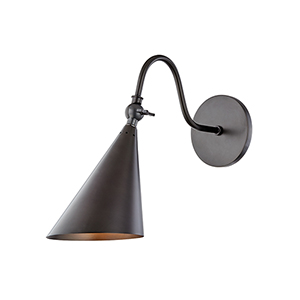 Lupe Old Bronze One-Light Wall Sconce