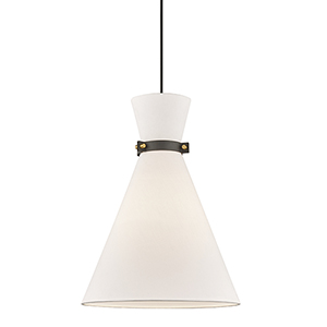 Julia Black One-Light Pendant