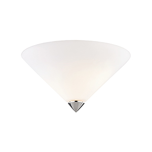 Ulla Polished Nickel Two-Light Flush Mount