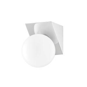 Aspyn Polished Nickel One-Light Bath Vanity