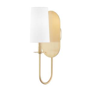 Lara Antique Brass One-Light Wall Sconce