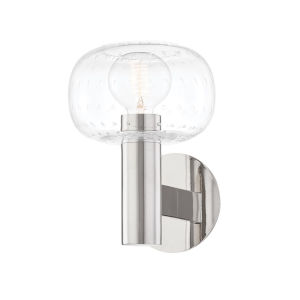 Harlow Polished Nickel One-Light Wall Sconce
