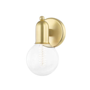 Bryce Aged Brass One-Light Wall Sconce