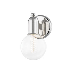 Bryce Polished Nickel One-Light Wall Sconce