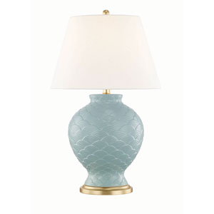 Demi Surf Blue Table Lamp