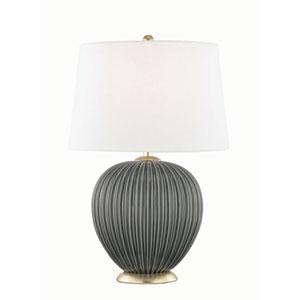 Jessa Charcoal Table Lamp