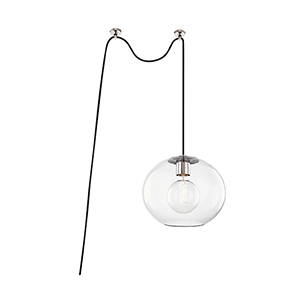 Margot Polished Nickel One-Light Pendant