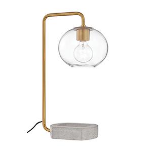 Margot Aged Brass One-Light Table Lamp