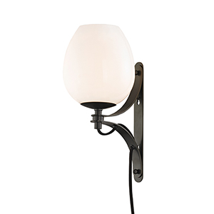 Lindsay Old Bronze One-Light Wall Sconce