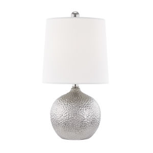 Heather Silver One-Light Table Lamp
