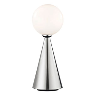 Piper Polished Nickel 20-Inch LED Table Lamp