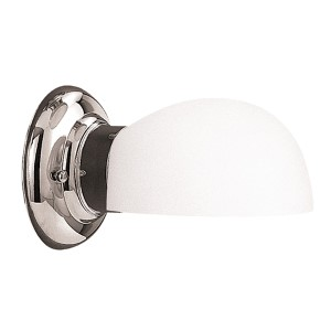 Edison Polished Nickel One-Light Uplight Wall Sconce