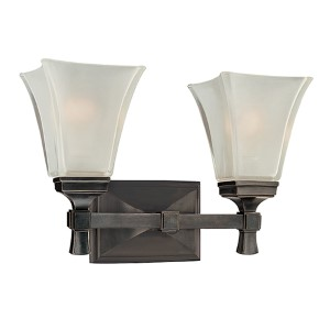 Kirkland Old Bronze Two-Light Bath Bracket