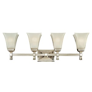 Kirkland Polished Nickel Four-Light Bath Bracket