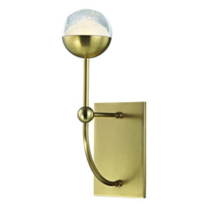 Boca Aged Brass LED Wall Sconce